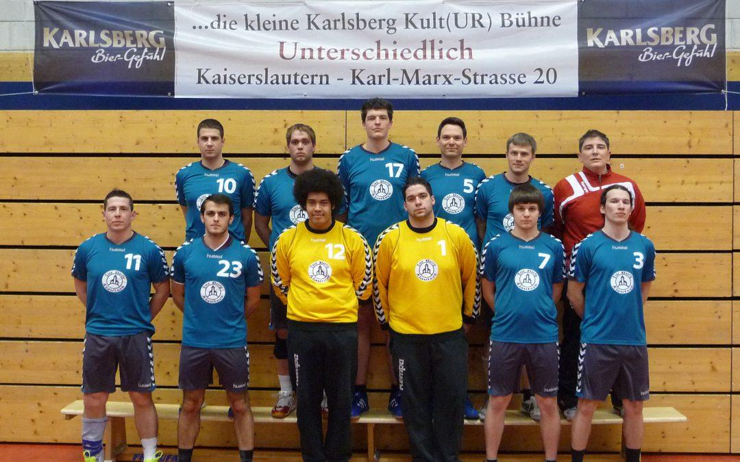Die Handballer des 1. FCK siegen im Stadtderby gegen die TSG Kaiserslautern